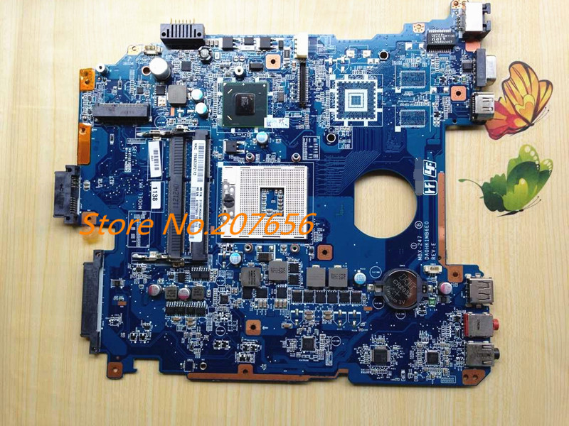 LAPTOP MOTHERBOARD For SONY Vaio PCG-71912L VPCEH14FM A1827699A MBX-247 DA0HK1MB6E0 HM65 INTEGRATED GMA HD DDR3