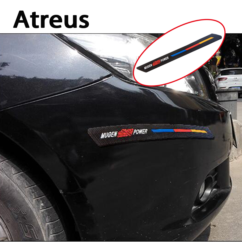 Atreus Car styling Crash Anti-collision Strip Bumper Stickers for Audi A4  Mercedes Opel Toyota Honda Jeep Renault For all car