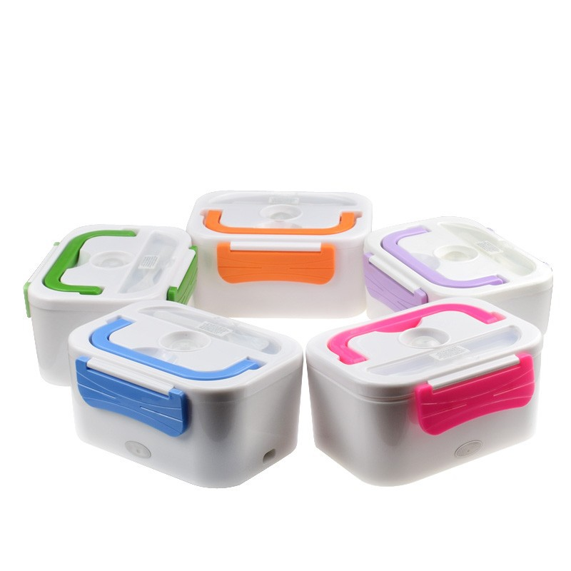 Car Plug Heated Lunch Benton Boxes 12 V Electric Heating Thermal Lunchbox Food Warmer Car Truck
