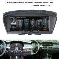 8,8 дюймов, автомобильный, мультимедийный плеер для BMW 5 серии E60 E61 E63 E64 3 серии E90 E91 CCC с gps навигации MP5 Wi Fi (нет DVD)