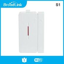 Sensor de porta para broadlink s2, conjunto de alarme de segurança, sensor detector de porta sem fio para casa inteligente