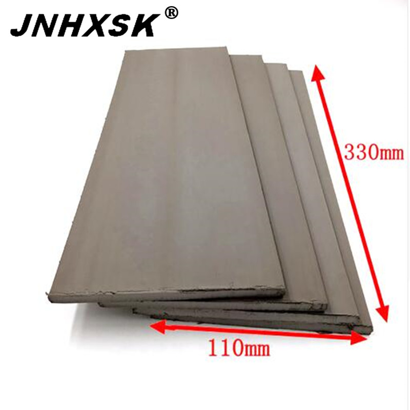JNHXSK High Density Golden Stamps Pad 330x110mm Rubber Stamp Pad  Plate Materials Photosensitive Self Inking Stamping Making