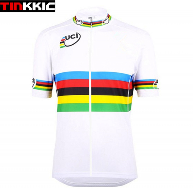 UCI Cycling Jersey Unisex Bicycle Racing Cycle Clothes Maillot Ciclismo  Short Sleeve Mtb Bike Cycling Clothing 2 Styles  XT-049 aaf9e8f65