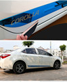 High Quality Stainless steel decorative Car Side Door Body Molding Scratch-resistant  Cover 4pcs for Toyota 2014 2016 Corolla