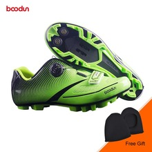 BOODUN New Men Mouintain Bike Shoes Anti-slip Self-locking Cycling Shoes Sports MTB Bicycle Shoes Sapatos de ciclismo