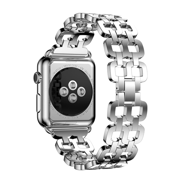 Stainless steel strap For Apple watch band 4 44mm 40mm correa iwatch 4 5  42mm 38mm Watchband link bracelet wrist Series 5/4/3/2   Watchbands