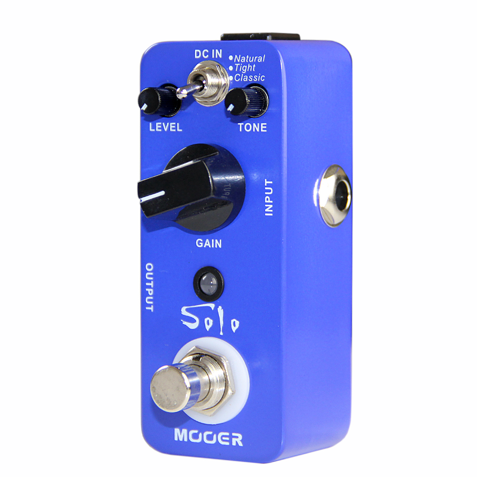 Mooer Solo High gain Distortion Guitar Effects Pedal True Bypass Guitar Pedal with Natural Tight Classic