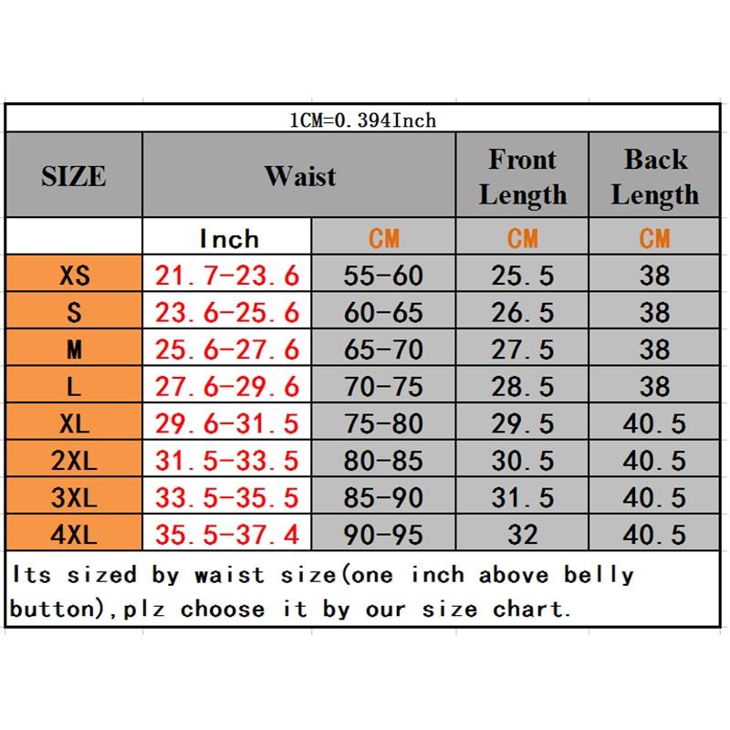 Women Waist Trainer Body Shaper Workout Waist Corset Tummy Cincher Control Vest Zipper Underbust  Corsets and Bustiers XS-4XL
