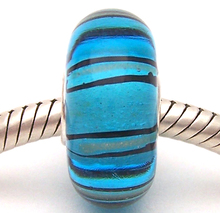 JG992 100% S925 Sterling Silver Beads Murano Glass beads Fit European Charms Bracelet charms diy jewelry Lampwork GlassBeads недорого