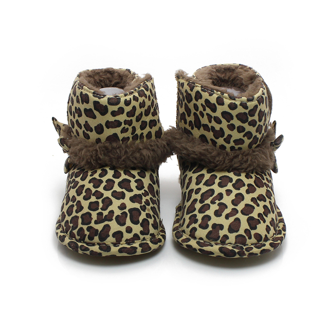Aliexpress.com : Buy The New Down Leopard Ankle Cotton Baby Girl ...