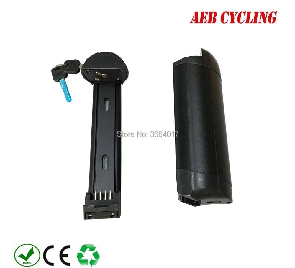EU US Free shipping and taxes smart portable 36V 7.5Ah Li-ion battery pack G30 little bottle battery for city bike women bike