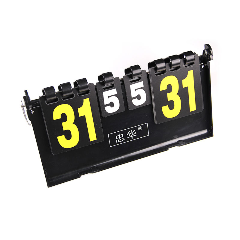 Portable basketball Scoreboard football score boards volleyball handball tennis 4 digit Sports score board Wholesale ...