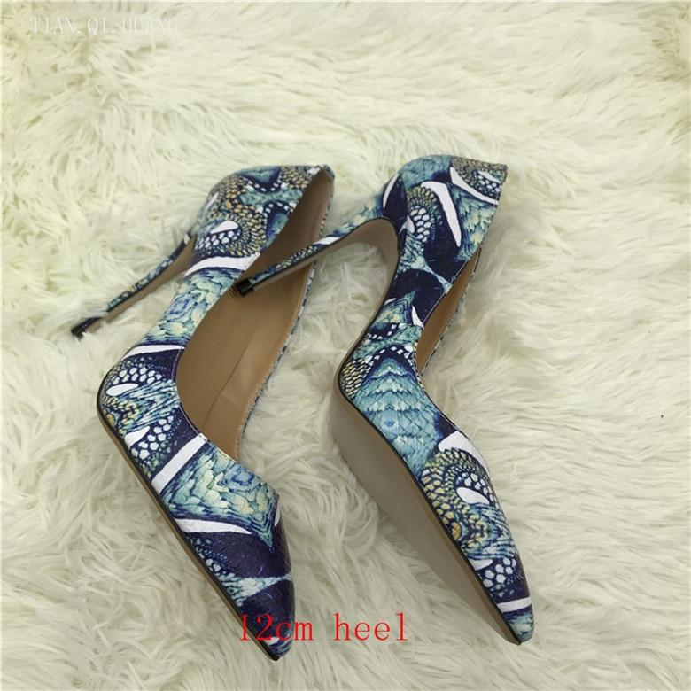 Brand Classic Fashion Design Woman Sexy Pumps Shoes High Heels Women Nightclub Shoes High Quality Pumps Shoes TIAN.QI.HUANG 2