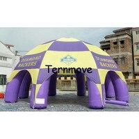 Inflatabe sunbelt אוהל מסיבת פרסום כיפת אוהל אירוע  אוהל מתנפח לרכב עם לוגו מותאם אישית  מתנפח אוהלי עכביש