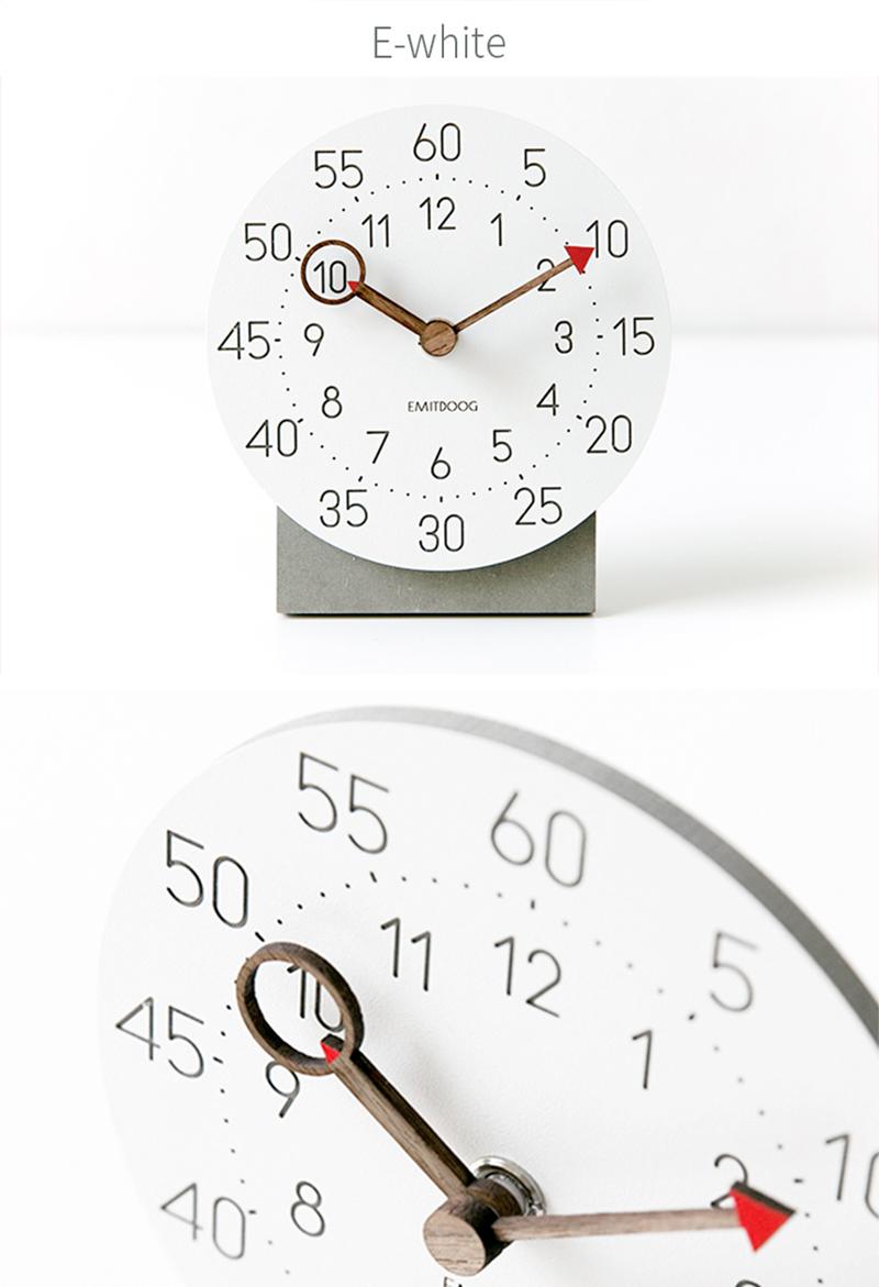 retro clock with time projection clock vintage reloj mesa vintage reloj antiguo automobile clock alarm clock bedroom clock clock flip watch table table clock (12)