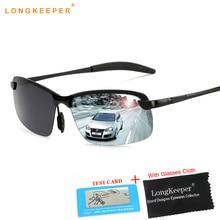 Brand Designer Rimless Mens Sunglasses Polarized Anti-Glare Sun glasses Unisex Eyewear For Men Male Gafa oculos de sol masculino стоимость
