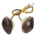 ITimo For Honda Universal Flasher Amber light Indicator Lamp Turn Signal Lights Motorcycle Lighting 2 Pieces/Set