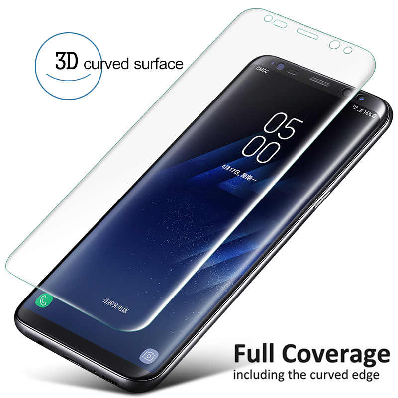 Full Cover Curved For Samsung Galaxy Note 8 10 S9 s10 Plus Screen Protector Protective Film (Not Tempered Glass)For S8 S7 Edge