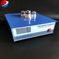 1200 w/28 khz/40 khz Hohe Qualität Dual-frequency Digitale Ultraschall Signal Generator Für Reinigung Maschine