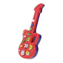 Гитара Игрушки Ребенок Ребенок Дети Foxy Электронная Гитара Рифма Развивающие Пластиковые Музыка Звуковые Игрушки Детские Игрушки Музыкальный Инструмент