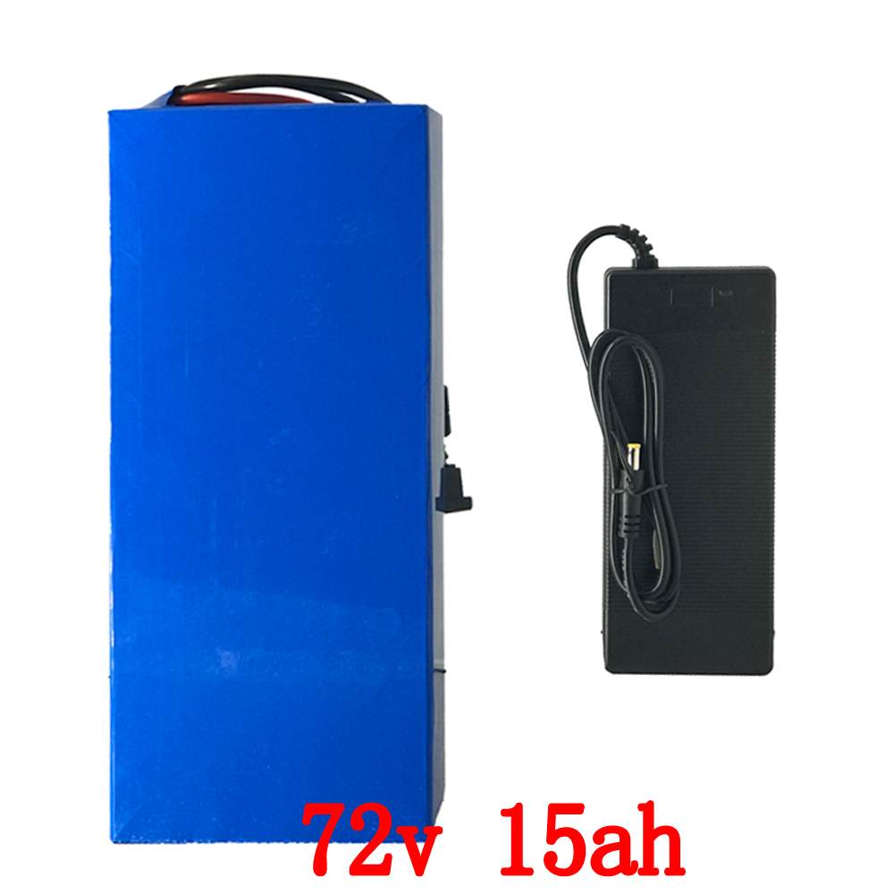 72v lithium battery 72V 15AH electric bike battery 72v 15ah lithium ion battery pack with 30A