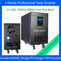 7000VA 5000W Solar Power Inverter With Built In Solar Charge Controller 5000W DC48V Dc To Ac