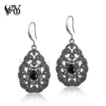 VEYO Crystal Earrings Ear Hook Rhinestone Earrings For Women Classic Hot Sale High Quality Brincos Pendientes