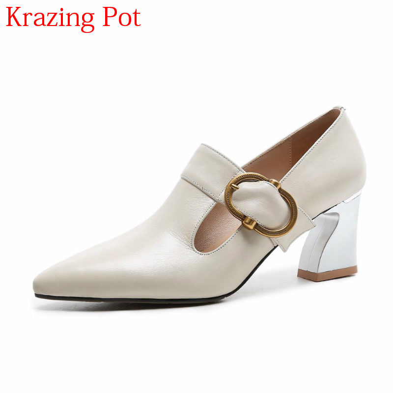 2018 Brand Spring Shoes Elegant Office Lady Fashion Slip on High Heels Pointed Toe Women Pumps Runway Party Wedding Shoes L64 2017 shoes women med heels tassel slip on women pumps solid round toe high quality loafers preppy style lady casual shoes 17