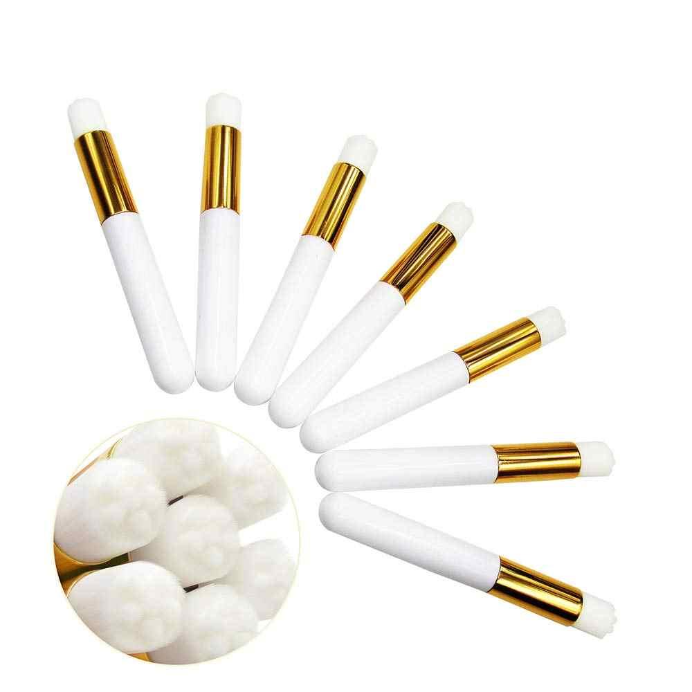 10 adet Burun Gözenek Derin Temizlik Fırçası kirpik uzatma fırçası Yüz Temizleyici Fırça Siyah Nokta Remover Burun Temizleme Fırçaları