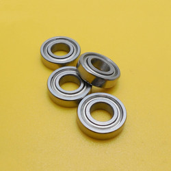 100 pcs of 500 pcs 687ZZ miniatuur stalen kogellagers 687 687Z 687 2Z 7x14x5 diepe groef kogellager 7*14*5mm bearing holders bearing railbearing thrust -