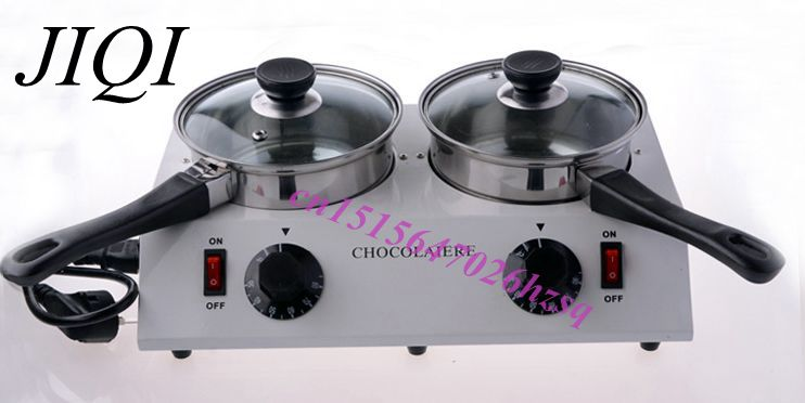 CUKYI Home Use 2 Pot Chocolate Melting Pot electric Melt machine kitchen application