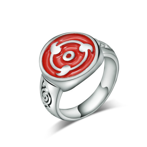 Naruto Themed Ring Size 7