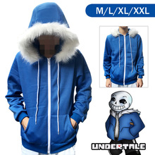 PP Undertale Sans Papyrus Hoodie Coat Warm Zipper Winner Sweatshirt Halloween Pokemon