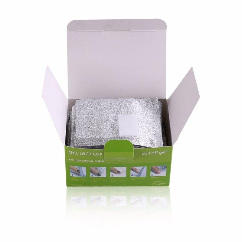 Encantador Envolturas De Papel De Aluminio De Uñas Ideas Ornamento ...