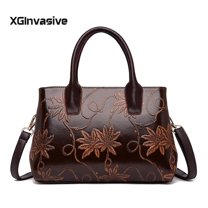 2018 Luxury Brand Women Handbags Leather High Quality Shoulder Bag Female Crossbody Bags Large Capacity Tote