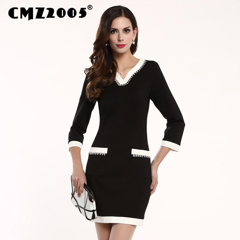 Hot Sale Nové Dámské Oblečení Vysoce kvalitní V-límec Sestřih Harajuku Mini Móda Jednoduché Podzimní šaty Osobnost Šaty 71011