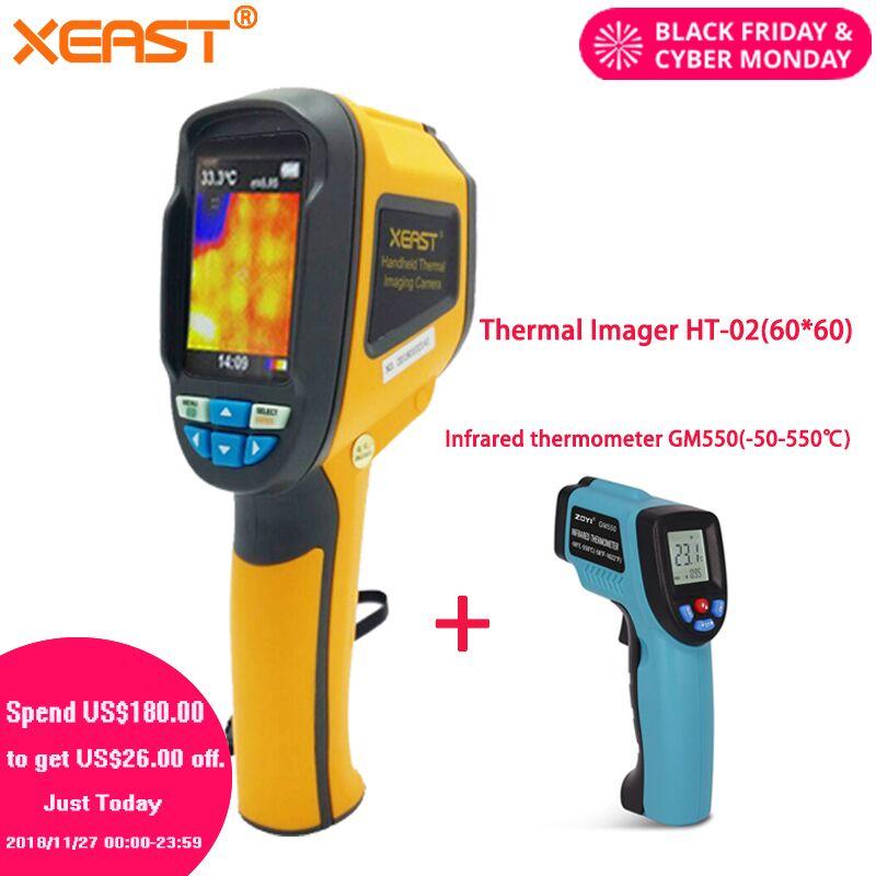 Effettuare la consegna da Mosca Palmare Thermal Imaging Camera ht-02 Termocamera thermometre infrarouge termometro infravermelho