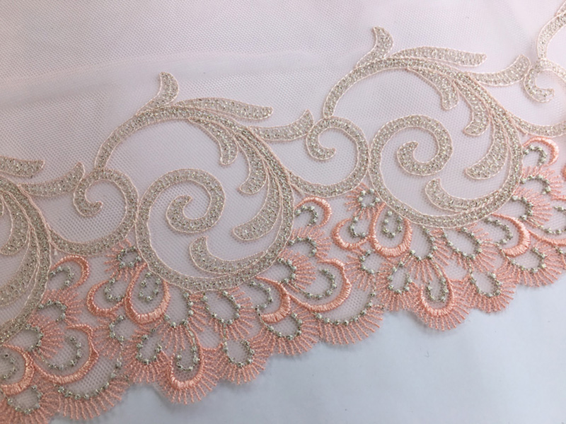 5Meter Exquisite Embroidered Floral Lace Trim Lace Fabric DIY Craft Sewing Dress Clothing Accessories Wedding Dress High Quality in Lace from Home Garden