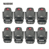 8pcs / 230W LED Lyre Moving Head Light Beam Spot Wash ZOOM 4in1 Light Party Light DJ stage light night club