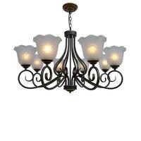 Vários Lustre novo estilo Europeu lâmpada quarto lâmpada de assoalho da lâmpada sala de estar sala de jantar iluminação simples lâmpada moderna D8 61|dining room lamp|modern lamp|modern style lamp -