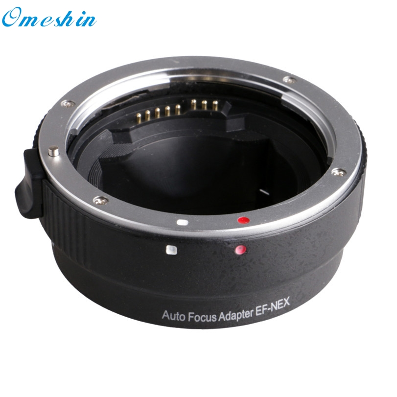 ФОТО Hot-sale Auto Focus Adapter Ring EF-NEX for Canon EF Series Lens For Sony NEX Series Camera Accessory Gifts