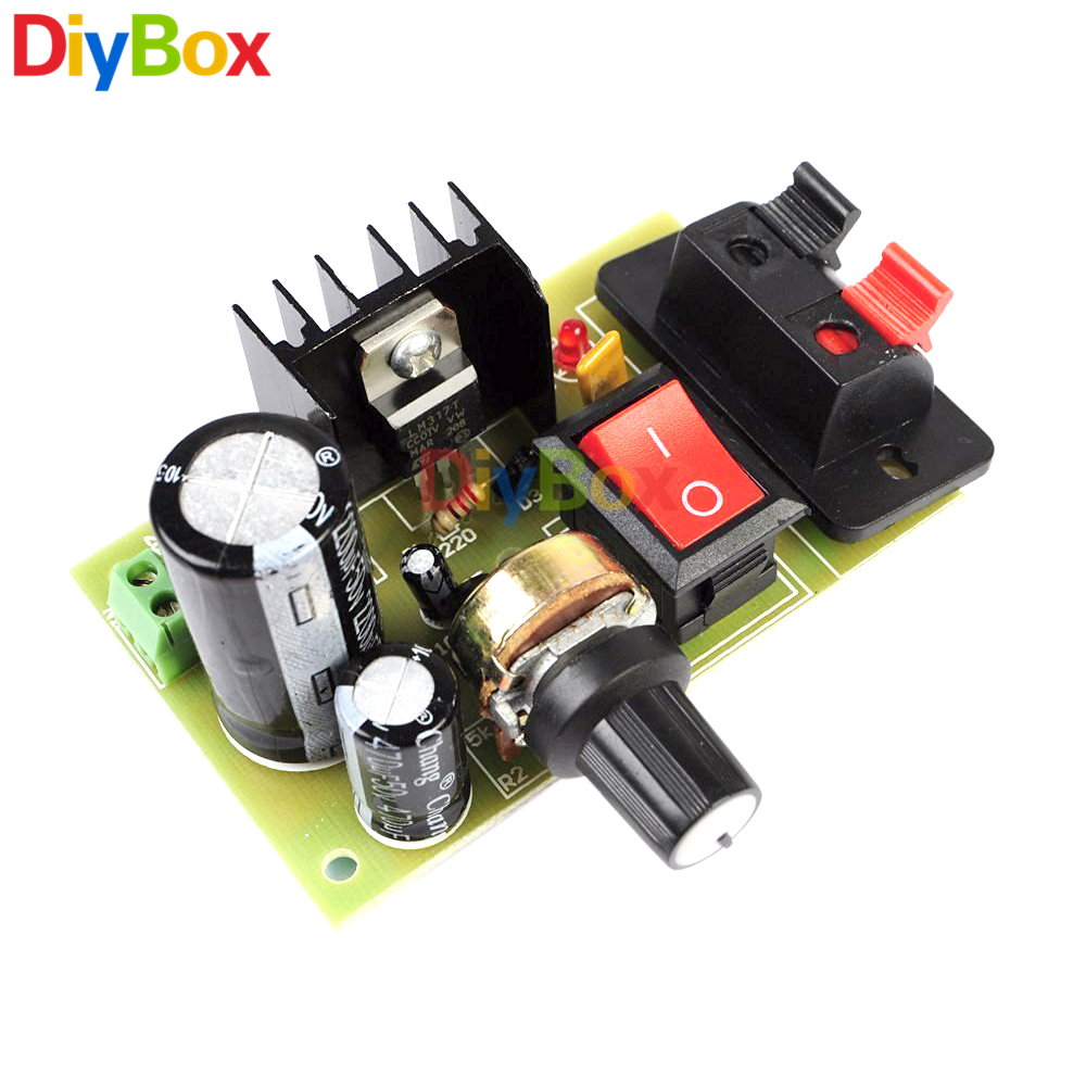 Lm317 Step Down Power Transformer Dc 5v 35v To 125v 30v Diy Kits Ac Mini2440 Supply System Schematic Diagram Buck Converter Voltage Regulator In Transformers From Home Improvement On