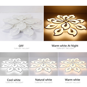 Image 5 - New Modern led ceiling lights for living room bedroom Plafon home Lighting combination White and Black home Deco ceiling lamp