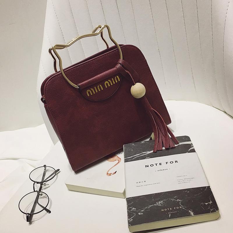 Women Bag 2017 New Fashion Shoulde Cat style Portable Shoulder Bag Women Messenger Bags for Women