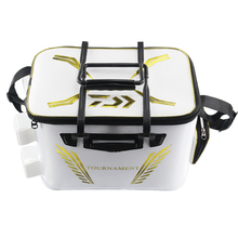 2018 New DAIWA DAWA Bait Bucket Light Outdoor Multi functional Bait Box Bait Bag Portable Outdoor Fishing Pail 40CM 45CM