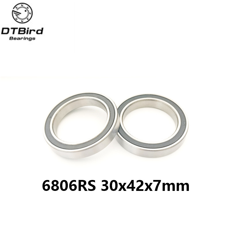6806-2RS 6806 61806 2RS SI3N4 hybrid ceramic ball bearing 30x42x7mm for BB30 15267 2rs 15 26 7mm 15267rs si3n4 hybrid ceramic wheel hub bearing
