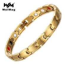 Браслеты welmag для женщин регулируемые браслеты из нержавеющей