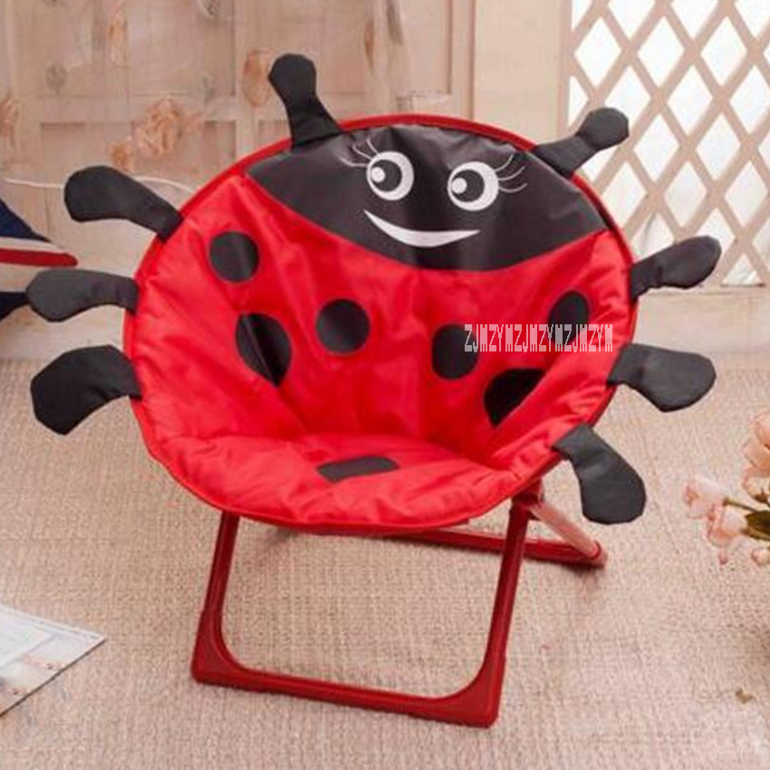 Fashion Children Chairs Portable Outdoor Beach Chairs Cartoon Pattern Children's Chairs Lovely Foldable Stool Bedroom Home