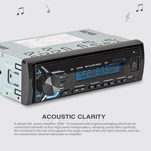 Image 5 - 多機能 Bluetooth 車両 MP3 プレーヤー lcd ディスプレイ Mp3 ワイヤレスレシーバーカー FM ラジオ 3.5 ミリメートル AUX オーディオアダプタカーキット