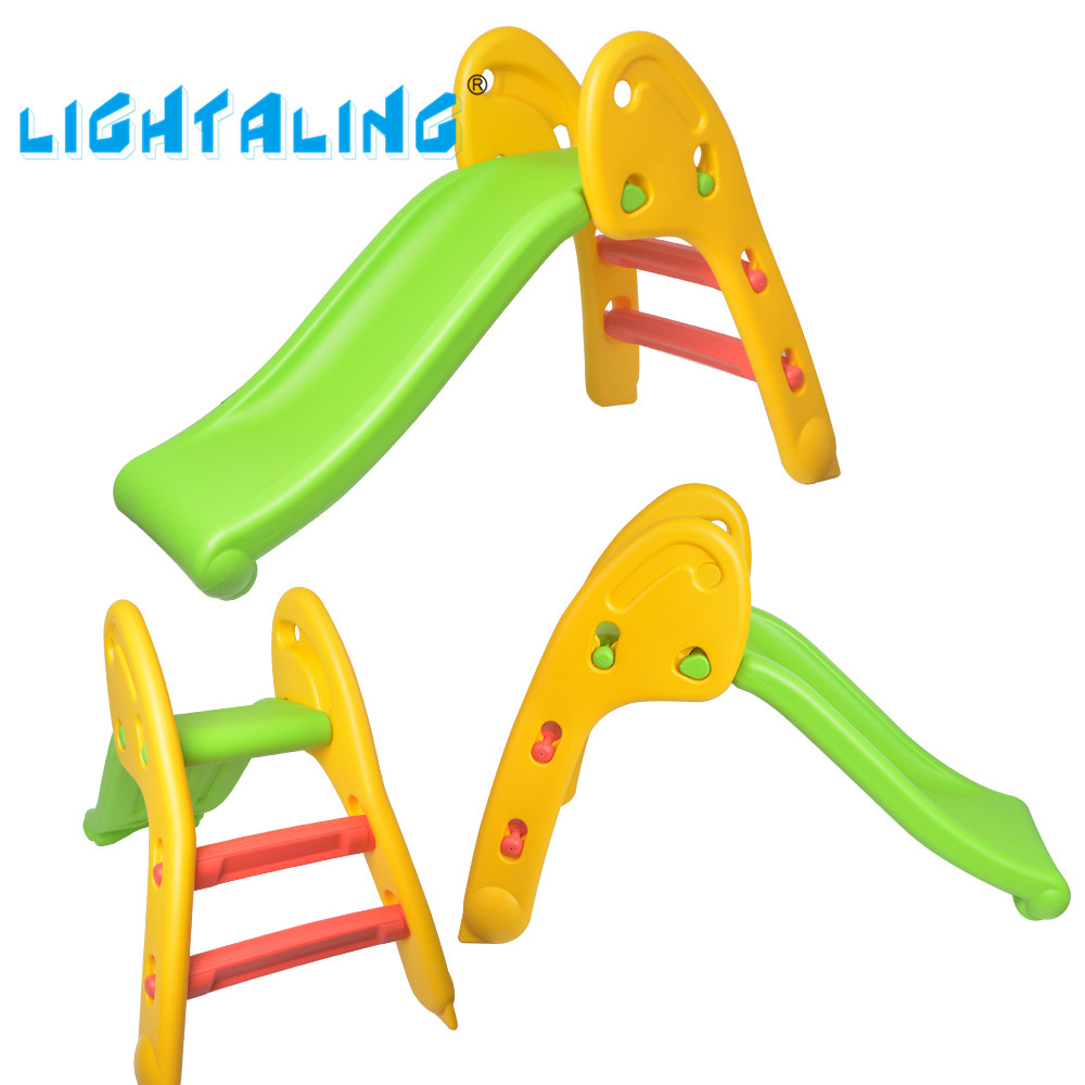 Lightaling Kids Sliding Indoor & Outdoor Fun Slide Toys Toddlers Folding Slide Baby Plastic Toy Large Play Slides for Children tri fidget hand spinner triangle metal finger focus toy adhd autism kids adult toys finger spinner toys gags
